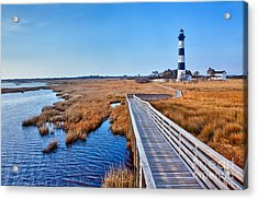 Bodie Lighthouse Outer Banks North Carolina I Acrylic Print by Dan Carmichael