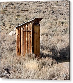 Bodie Outhouse Acrylic Print