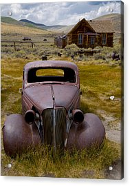 Bodie Rest Stop Acrylic Print
