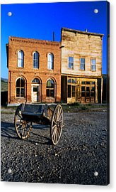 Bodie Storefront Acrylic Print by Joe Darin