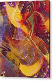 Body Of Art Acrylic Print