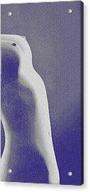 Body Waves 7 Acrylic Print by Piety Dsilva