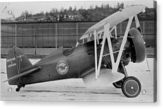 Boeing 100-f  P-12 Prototype Acrylic Print by Hank Clark