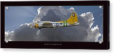 Boeing B-17 Acrylic Print by Larry McManus