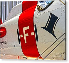 Boeing Fighter 4b-1 -  Close Up Acrylic Print by Gregory Dyer