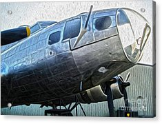 Boeing Flying Fortress B-17g  -  01 Acrylic Print by Gregory Dyer