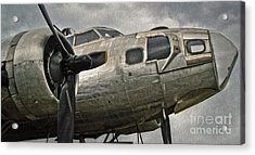 Boeing Flying Fortress B-17g  -  04 Acrylic Print by Gregory Dyer
