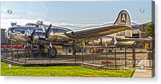 Boeing Flying Fortress B-17g  -  05 Acrylic Print by Gregory Dyer