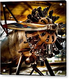 Boeing Model 100 Acrylic Print by David Patterson