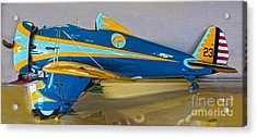 Boeing Peashooter P-26a  -  01 Acrylic Print by Gregory Dyer