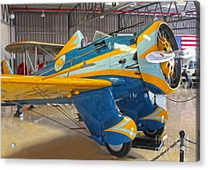Boeing Peashooter P-26a  -  03 Acrylic Print by Gregory Dyer