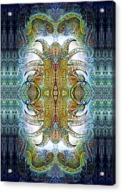 Acrylic Print featuring the digital art Bogomil Variation 14 - Otto Rapp And Michael Wolik by Otto Rapp