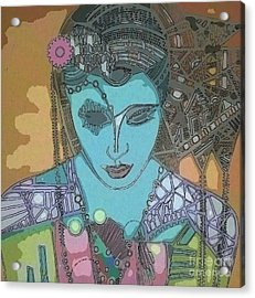 Bohee Water Acrylic Print by Amy Sorrell