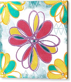 Boho Floral 2 Acrylic Print