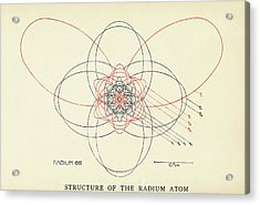 Bohr-sommerfeld Model Of The Atom Acrylic Print by Emilio Segre Visual Archives/american Institute Of Physics