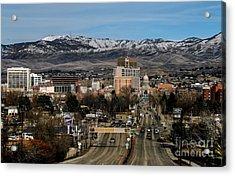 Boise Idaho Acrylic Print