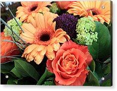 Bold Bouquet Acrylic Print