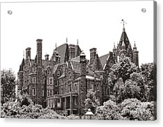 Boldt Castle Acrylic Print by Olivier Le Queinec