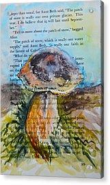 Boletus Edulis Acrylic Print by Beverley Harper Tinsley