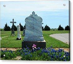 Bomarton Catholic Cemetery 6 Acrylic Print