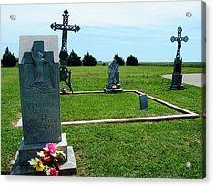 Bomarton Catholic Cemetery 7 Acrylic Print