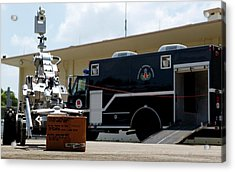 Bomb Disposal Robot Acrylic Print by Us Air Force/rey Ramon