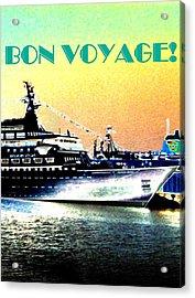 Bon Voyage Acrylic Print by Will Borden