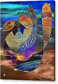 Acrylic Print featuring the painting Bonded In Harmony by Mukta Gupta