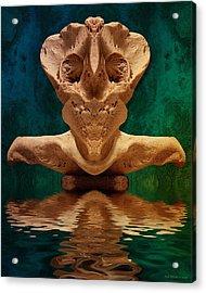 Boneface 7 Acrylic Print by WB Johnston