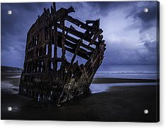 Bones Of The Peter Iredale Acrylic Print
