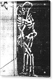 Bones Acrylic Print by Randall Henrie