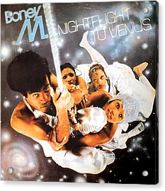Boney M Night Flight To Venus Acrylic Print by Gina Dsgn