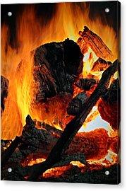 Bonfire  Acrylic Print by Chris Berry