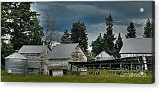 Bonners Ferry Farm Acrylic Print