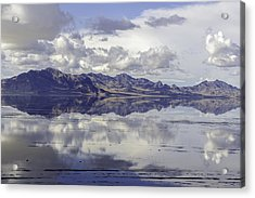 Bonneville Salt Flats Acrylic Print