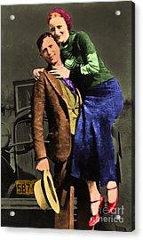 Bonnie And Clyde 20130515 Acrylic Print