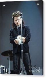 Bono 2 Acrylic Print by David Plastik