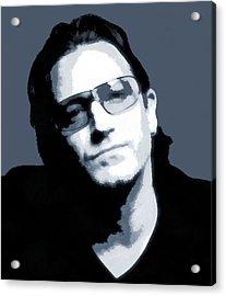 Bono Acrylic Print by Dan Sproul