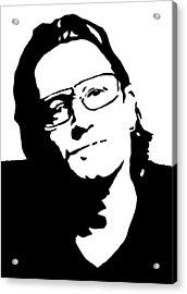 Bono Acrylic Print by Monofaces
