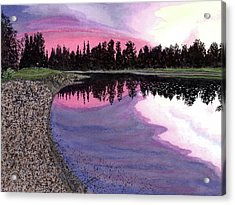 Bonsette's Sunset Acrylic Print