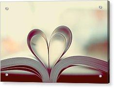 Book Lover Acrylic Print by Sofia Walker