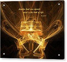Book Of Life Acrylic Print