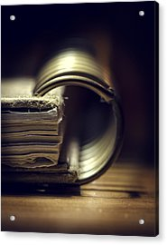Book Of Secrets Acrylic Print
