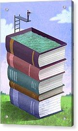 Book Pool Acrylic Print
