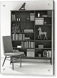 Bookcase By The Baker Furniture Company Acrylic Print