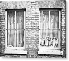 Books In The Window Acrylic Print