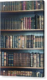 Bookshelf Acrylic Print