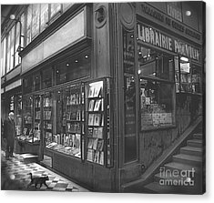Bookstore Acrylic Print by Louise Fahy