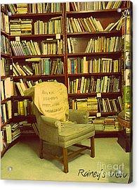 Bookstore Nook Acrylic Print by Lorraine Heath