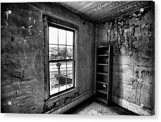 Boo's Room - Black And White Acrylic Print